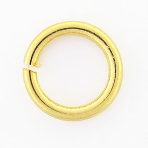 Metal 4x.8mm jumpring NF gold 150pcs