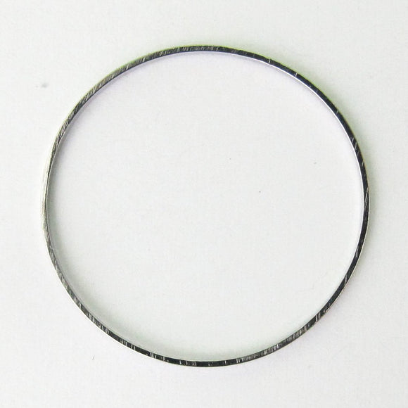 Metal 22mm fine ring Nkl 20pcs