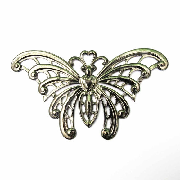 metal 60x105mm butterfly black 1pc