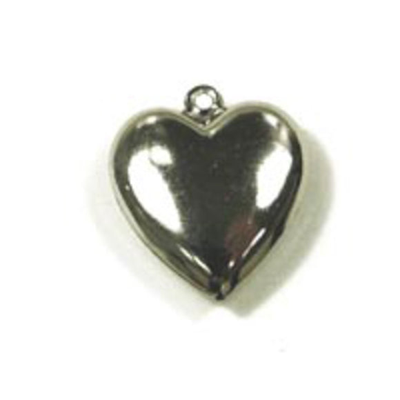 Metal casting 21x6 2 sided heart nickl 6