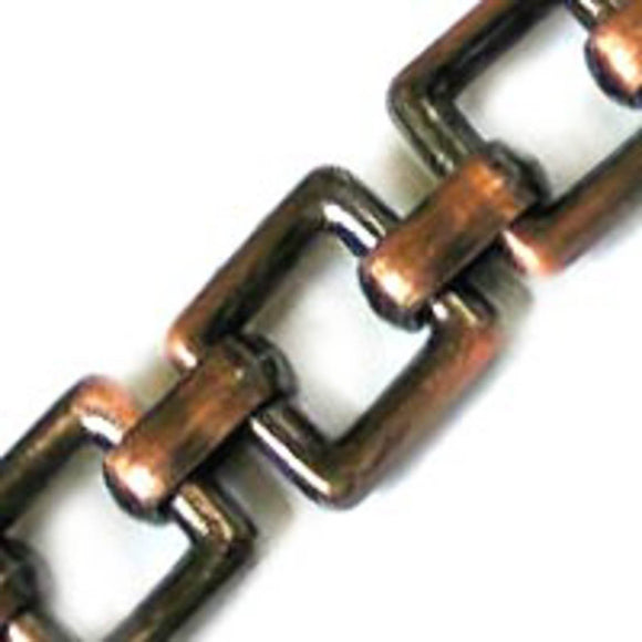 Metal chain 10mm flat sqaure Ant cop 5mt