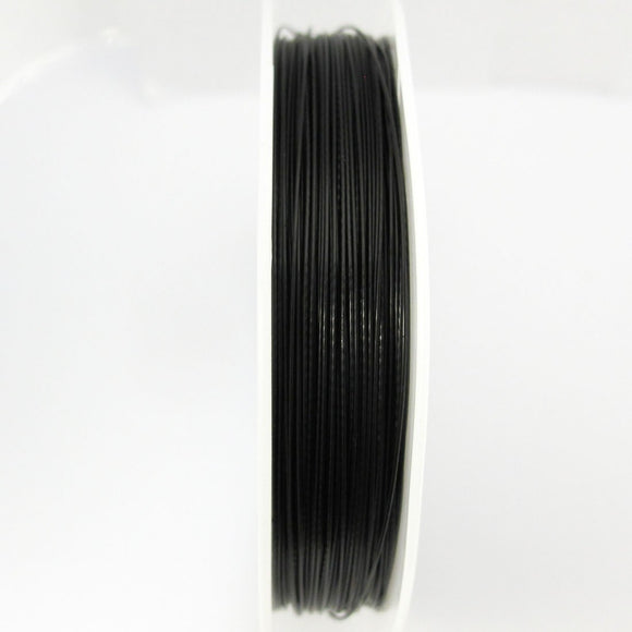 Tiger tail .45mm black 80m