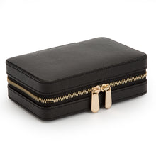 Load image into Gallery viewer, WOLF 1834 PALERMO ZIP CASE - BLACK