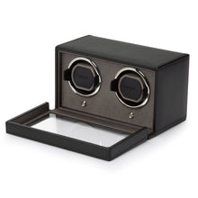 Load image into Gallery viewer, WOLF 1834 DOUBLE CUB WINDER WITH COVER - BLACK