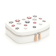 Load image into Gallery viewer, WOLF 1834 BLOSSOM TRAVEL ZIP JEWELRY CASE