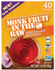 monk fruit in the raw keto diet sweetener ketosis ketogenic low carb high fat lchf