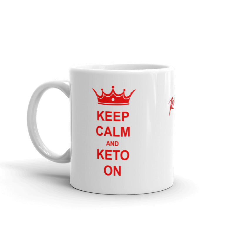 Keep Calm & Keto On Mug