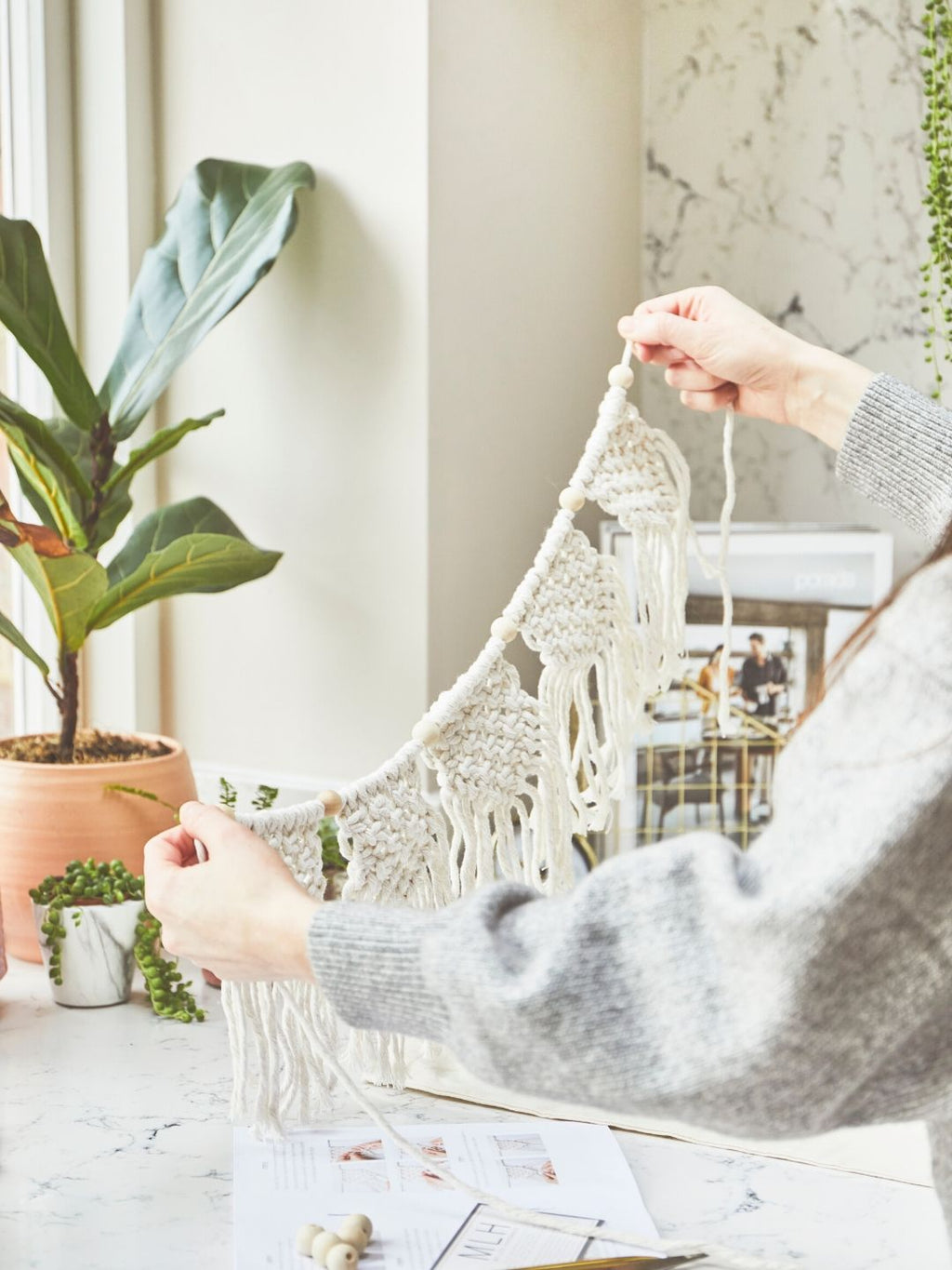 Macrame Bunting Craft Kit | Make Range | Shop My Life Handmade