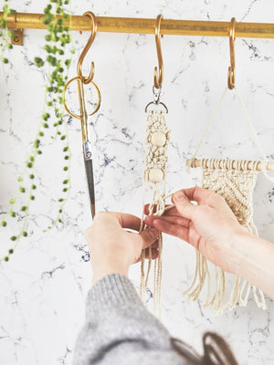 Mini Macrame Keyring Kit | Make Range | Buy Online at My Life Handmade