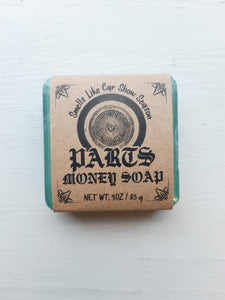 Parts Money Soap