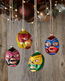 Cody Foster & Co Luchadores Mask Christmas Ornament