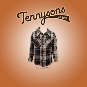 Niños Board Shirt - BROWN / MULTI