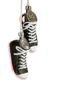 Cody Foster & Co High Top Chucks Christmas Ornament