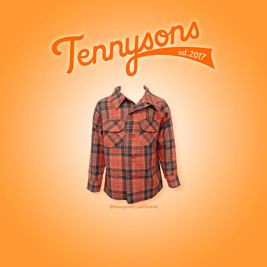 Niños Board Shirt - ORANGE / MULTI