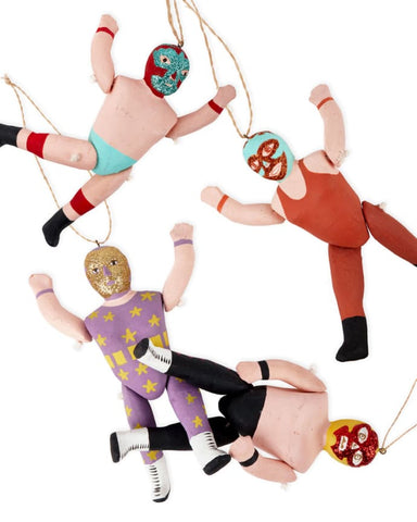 Cody Foster & Co Luchador Christmas Ornament