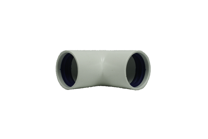 90° connector pipe for urine hose ø32mm