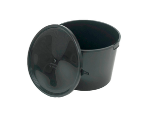 Solid Waste Container 23l for Villa toilets incl. lid