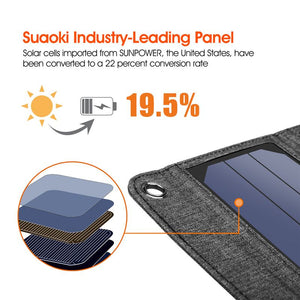 Solar Powered Foldable USB Phone Charger - ProoTools