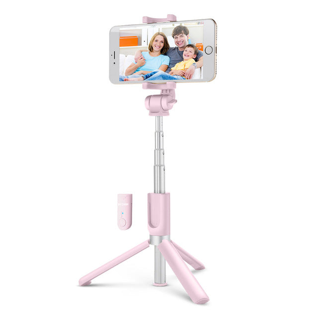 Wireless bluetooth Selfie Stick Mini Tripod Extendable Foldable Monopod