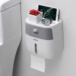 Stylish Box For All You Need In Toilet - Waterproof Toilet Paper Holder - ProoTools