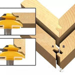45° LOCK MITER ROUTER BIT - WOODWORKING TOOL - ProoTools