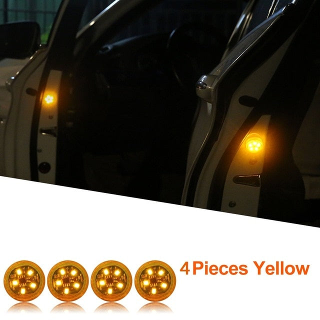 Car Door Warning LED Light | 4PCS |