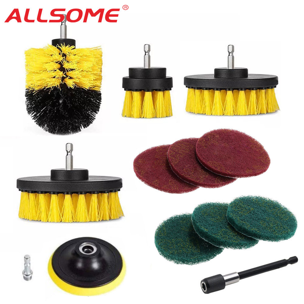 12Pcs Drill Brush Kit