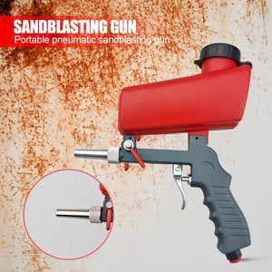 Portable Gravity Pneumatic Sandblaster