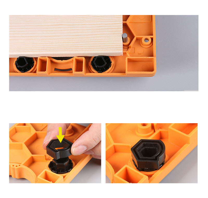 Concealed 35mm Cup Style Hinge Jig Boring Hole Drill Set