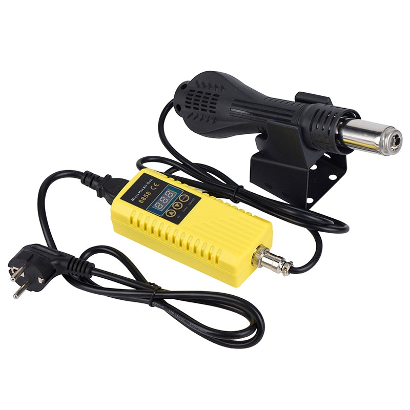 JCD Soldering Hot Air Gun with Microcomputer Control and Adjustable Temperature