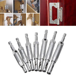 7Pcs SELF-CENTERING DRILL BITS