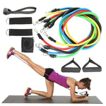 Fitness Resistance Bands 11pcs