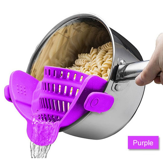 Silicone Colander Kitchen Accessories
