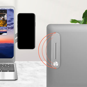 LAPTOP SIDE MOUNT PHONE DISPLAY CLIP