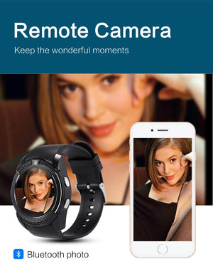 V8 Smart Watch with Camera