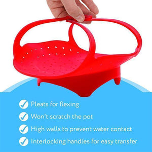 Silicone Food Steamer