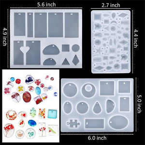 DIY Resin Crystal Mold Set