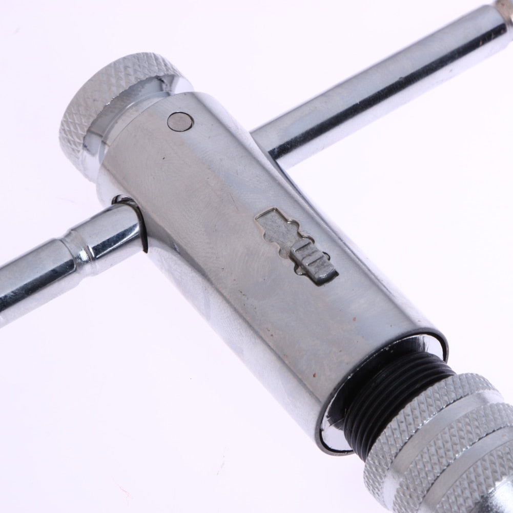 Adjustable 3-8mm T-Handle Ratchet Tap Wrench