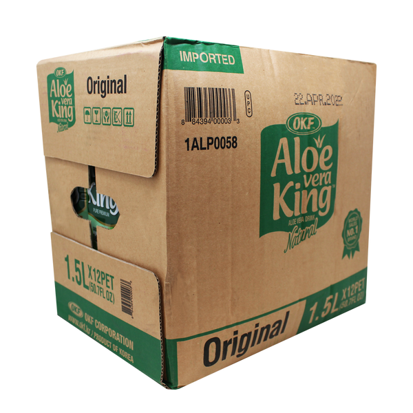 OKF Aloe Vera King 50.7 Fluid Ounce (Pack of 12)