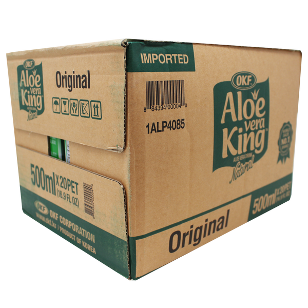 OKF Aloe Vera King 16.9 Fluid Ounce (Pack of 20)