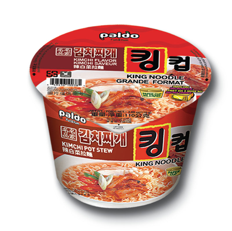 Paldo King Noodle Soup 3.88 oz (Pack of 16)