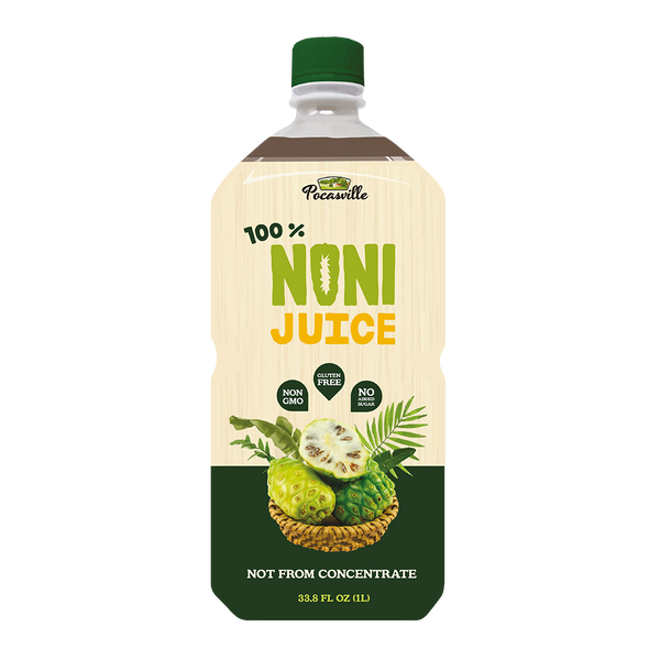 Pocasville 100% Noni Juice (Pack of 4)
