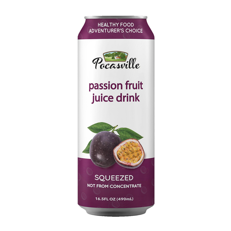 Pocasville Fruit Juices 16.5 Fluid Ounce (Pack of 12)