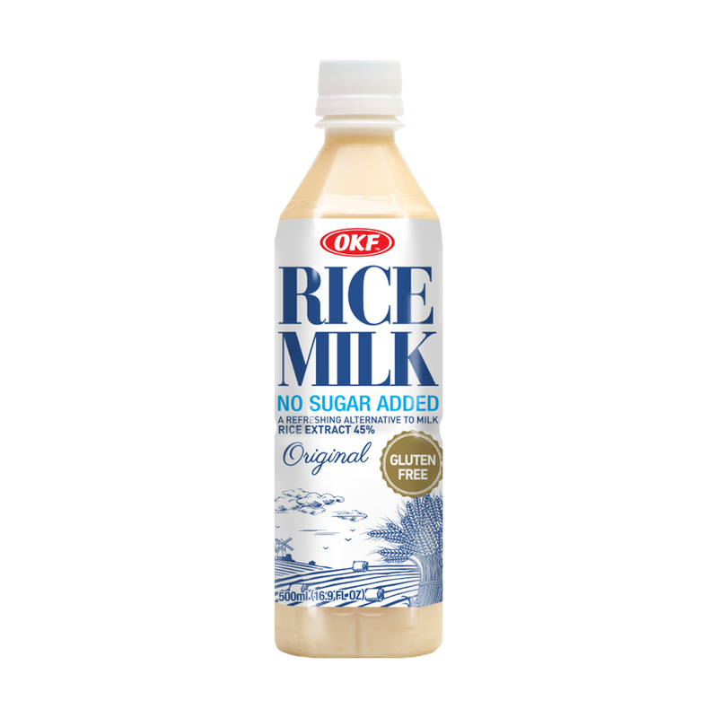 OKF Rice Milk, 16.9 Fluid Ounce (Pack of 20)
