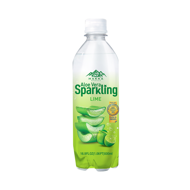 OKF Aloe Vera Sparkling, 16.9 Fluid Ounce (Pack of 20)