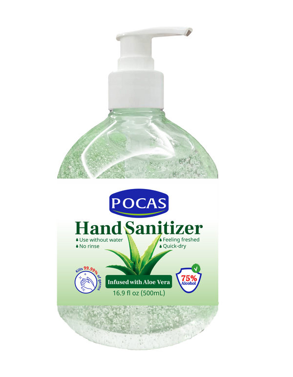 Pocas Hand Sanitizer 16.9 Fluid Ounce (Pack of 2)