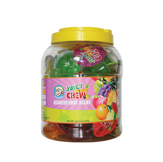 Mandisa Assorted Juicy Jelly, Round Jar