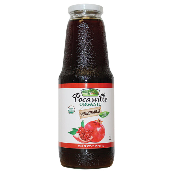 Pocasville Organic Juice 33.8 Fluid Ounce (Pack of 12)