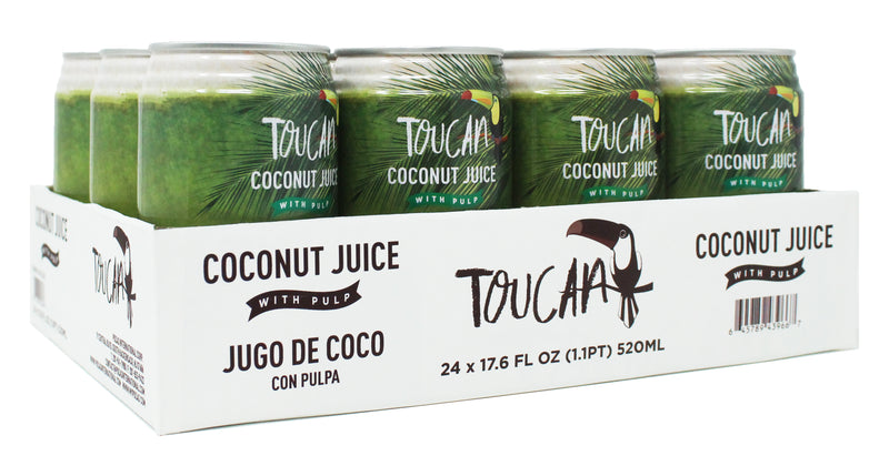 Toucan Coconut Juice 16.5 Fluid Ounce (Pack of 12)