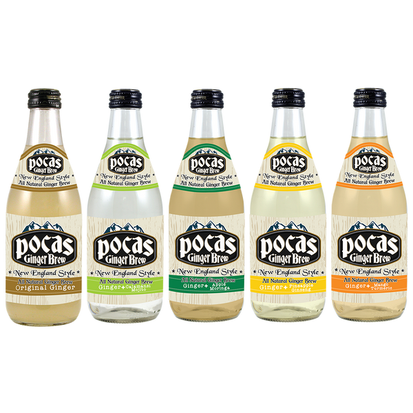 Pocas Ginger Brew 12 Fluid Ounce (Pack of 24)